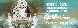 Party flyer: Psy-Fi Warming Up At Waldfrieden 11 Mar '17, 21:00