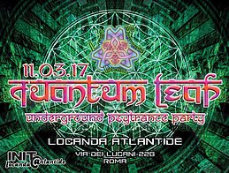 Party flyer: QuAnTuM•LeAp • Psy Trance Party • ROMA 11 Mar '17, 22:00