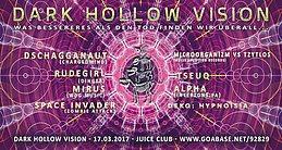 """Party flyer: DARK HOLLOW VISION - """"was besseres als den tod finden wir überall"""" 17 Mar '17, 23:00"""