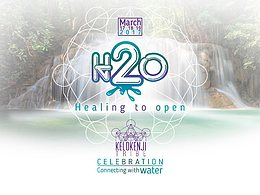 "Party flyer: H2O ""healing to open celebration"" 17 Mar '17, 16:30"