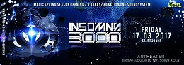 Party flyer: Insomnia 3000 / Magic Spring Season Opening / Hatikwa uvm. 17 Mar '17, 23:00