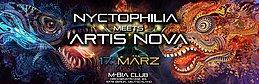 Party flyer: Nyctophilia meets Artis Nova 2 17 Mar '17, 23:00