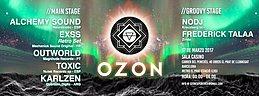 Party flyer: OZON presents : The OZON Xperience 17 Mar '17, 01:00
