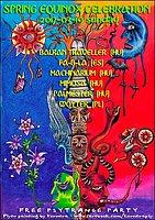 Party flyer: Spring Equinox Celebration 19 Mar '17, 20:00