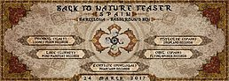 Party flyer: Back to Nature Festival: Official teaser in Spain (BCN) 24 Mar '17, 01:00