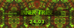Party flyer: Inner Tribe #1 24 Mar '17, 23:00