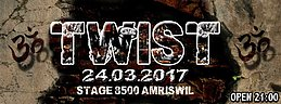 Party flyer: Twist 24 Mar '17, 21:00