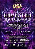 Party flyer: EPIC Tribe pres. Navastra - 9 Years Anniversary 25 Mar '17, 21:00