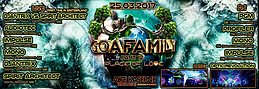 Party flyer: **GOAFAMILY part 12** - Place of Love 25 Mar '17, 23:00