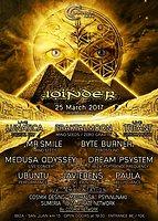 Party flyer: Joinder - LaMuella Ibiza [ FraktalMoon Bday ] 25 Mar '17, 19:00