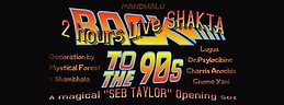 Party flyer: Mandhalu Back to the 90's 25 Mar '17, 21:00