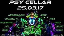 Party flyer: PSY CELLAR (happy birthday Erica,Martina e Alberto) 25 Mar '17, 22:00