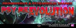 Party flyer: Psy Re-Evolution - Psychodelica Progressiva 25 Mar '17, 23:00