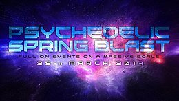 Party flyer: Psychedelic Spring Blast 2017 25 Mar '17, 19:00