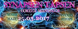 Party flyer: Synapsen tapsen 25 Mar '17, 22:00