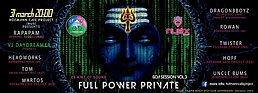 Party flyer: Full Power Private Goa Session vol.3 31 Mar '17, 20:00