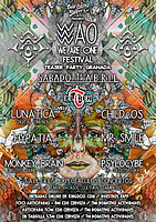 Party flyer: Burning Slippers: Wao Festival Teaser Party (Granada) 1 Apr '17, 17:30