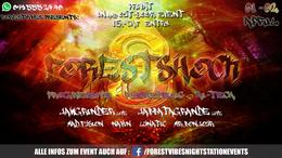 Party flyer: FOREST-SHOCK 3 ॐ w/ JAWGRINDER 2H LIVE & JABBATAGRANDE 1 Apr '17, 20:00