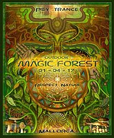 Party flyer: MAGIC FOREST 1 Apr '17, 13:30
