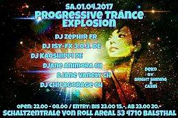 Party flyer: Progressiv/Trance EXPLOSION 1 Apr '17, 22:00