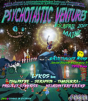 Party flyer: Psychotastic Ventures 1 Apr '17, 21:00
