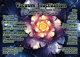 Party flyer: Vacuum Fluctuation 1 Apr '17, 22:00