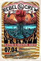 Party flyer: ★ ★ ★ PSY REBEL CREW Present's: S-RANGE Live ★ ★ ★ 7 Apr '17, 23:00