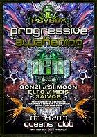 Party flyer: Psybox - Progressive Awakening - NBM Rec. Label Night 7 Apr '17, 22:00