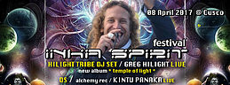 Party flyer: INKA SPIRIT FESTIVAL 2017 8 Apr '17, 22:00