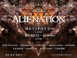 Party flyer: MAGUS NEXUS #1 – Alienation Party 8 Apr '17, 20:00