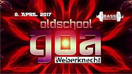 Party flyer: Oldschool Goa Party @ Weberknecht 8 Apr '17, 22:00