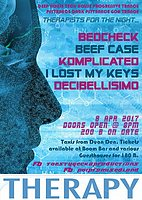 Party flyer: Therapy Session #2 8 Apr '17, 20:00