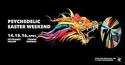 Party flyer: Psychedelic Easter Weekend 3 Tage 14 Apr '17, 23:00
