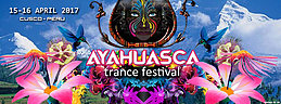 Party flyer: AYAHUASCA TRANCE FESTIVAL 2017 15 Apr '17, 14:00