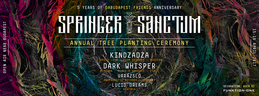 Party flyer: Springer Sanctum - Annual Tree Planting Ceremony 15 Apr '17, 12:00