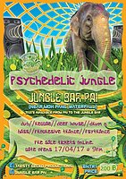 Party flyer: Psychedelic Jungle 17 Apr '17, 19:00