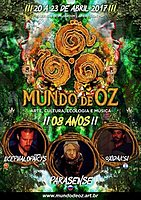 Party flyer: MUNDO DE OZ FESTIVAL - 8 YEARS 20 Apr '17, 12:00