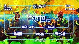 Party flyer: Mataró on Psychedelia #2: Digital Impulse! 21 Apr '17, 23:30
