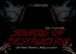 Party flyer: Sounds Of Destruction (2 dance floors - HT&HC) + after party 21 Apr '17, 22:00
