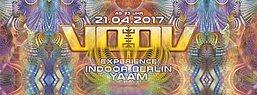 Party flyer: VooV Experience Indoor Berlin 2017 mit Blastoyz & Sun Project 21 Apr '17, 23:00
