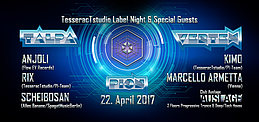 Party flyer: TesseracTstudio Label Night & Special Guests 22 Apr '17, 23:00