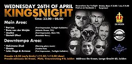 Party flyer: TFX & Friends (Kingsnight) 26 Apr '17, 22:00