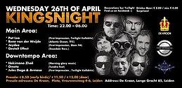 Party flyer: TFX & Friends (Kingsnight) 26 Apr '17, 22:00