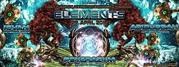 Party flyer: Elements - Iovan, Adibuddah, Psycrazym 29 Apr '17, 23:00