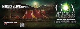 Party flyer: Neelix at Goa Adventure - Circus of Zugoa 29 Apr '17, 23:00