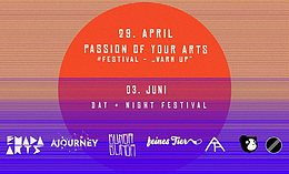 "Party flyer: Passion of your Arts # Festival - ""Warm Up"" 29 Apr '17, 23:00"