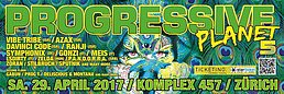 Party flyer: Progressive Planet 5 29 Apr '17, 21:00