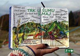 Party flyer: Trk U Šumu - TUŠ 2017. 29 Apr '17, 12:00