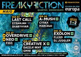 Party flyer: FREAKY FICTION 3 May '17, 23:00