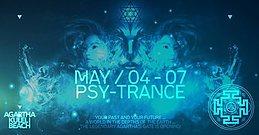 Party flyer: Agartha Psy-Festival 4 May '17, 18:00